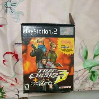 Ps2 Playstation Guncon Time Crisis 3