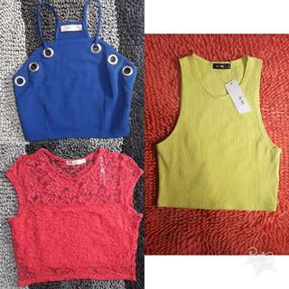 CHICABOOTI CROPTOP TAKE ALL