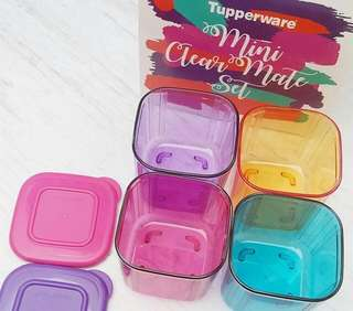 Clear mate set (freeongkir Jabodetabek)