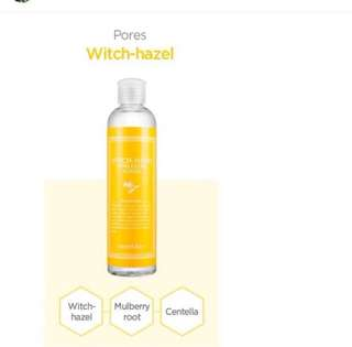 Authentic secret key witch hazel toner