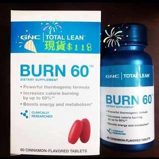 GNC Burn60