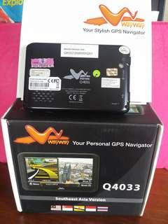 WayWay GPS Navigator Q4033
