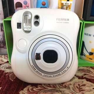Fujifilm instax mini 25 拍立得(全白)