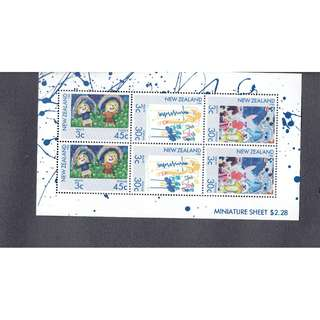 ANZ 19 Miniature Sheet  New Zealand
