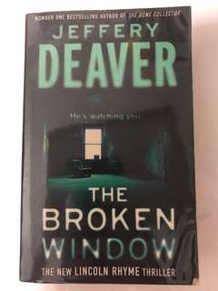 The Broken Window (2008) Jeffery Deaver