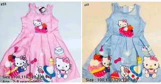 Shop : HELLO KITTY GIRLS DRESS 2 to 8 years old