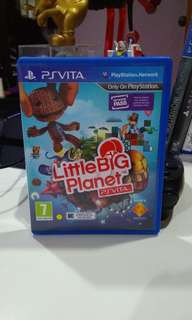 Psvita Little Big Planet