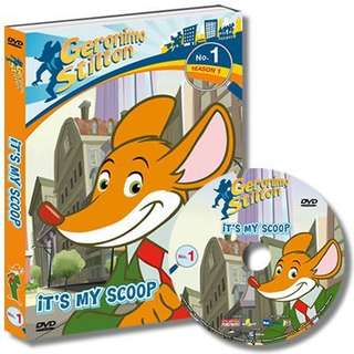 Geronimo Stilton Full set of 16 DVDs (52 episodes).