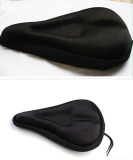 new bike cycling bicycle silicone saddle seat cover cushion