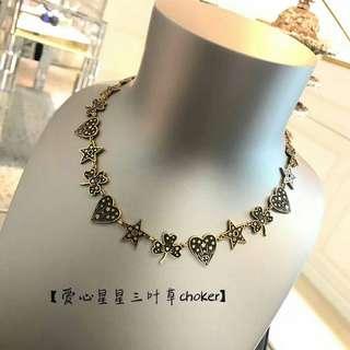 原單 Dior necklace chocker with packaging
