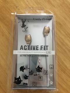 Ultra thin stereo earbuds