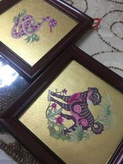 Asian Painting 2pcs