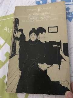 Strindberg's Three Plays