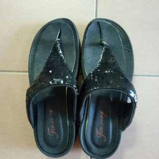 健走夾腳鞋
