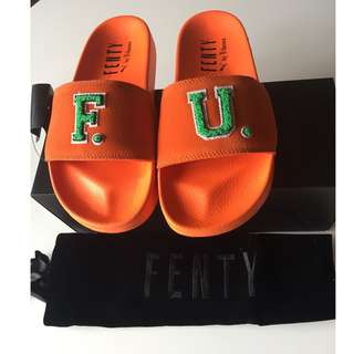 Puma by Rihanna Fenty Slide comes in box with dust bag. RRP $129
