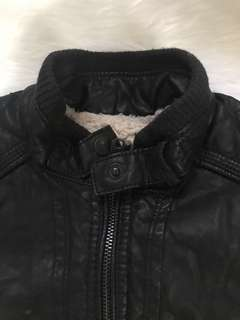 Zara Boys Leather Jacket