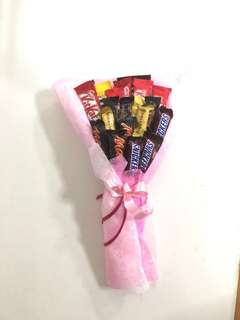 Assorted chocolate bouquet