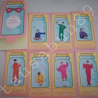 BTS Official 4th Muster Cloud Card Set