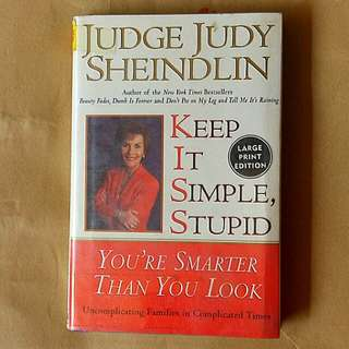 Keep It Simple, Stupid (Preloved Book)