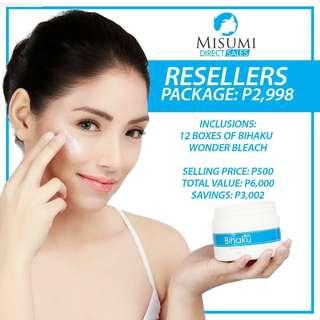 Reseller Package - Bihaku Wonder Bleach Cream