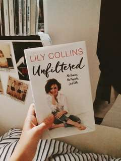 Lily Collins no shame no regret just me unfiltered