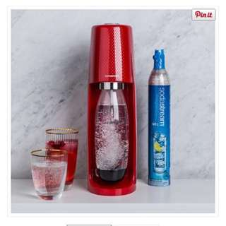 *price drop* Sodastream FIZZI sparking water maker (Red)