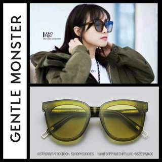 Gentle Monster In scarlet sunglasses 太陽眼鏡