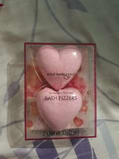 Strawberry Scented Bath Frizzers
