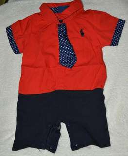 3 to 6 months polo onesies