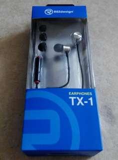 Earphones TX-1 耳機