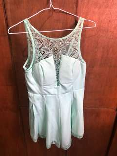 Green Romper by Chic a booti