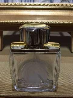 Lalique perfume empty bottle