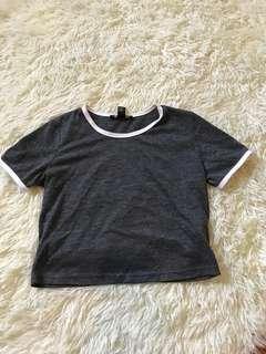 Forever 21 Crop Tshirt