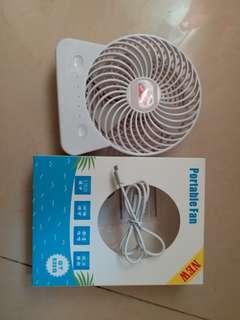 便攜式多功能充電風扇