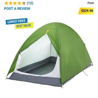 Waterproof Durable Tent ⛺ For 2ppl