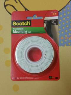 3M Scotch Permanent Mounting Tape