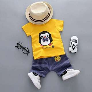 Yellow penguin