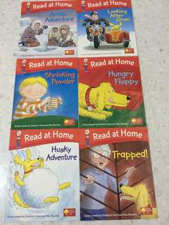 Oxford Reading tree, read at home series, level 4