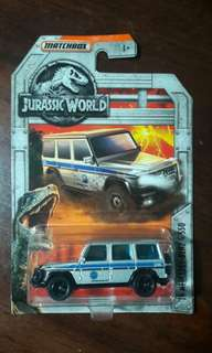 Matchbox Jurassic World '14 Mercedes-Benz G 550