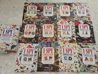 I spy phonics fun books