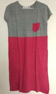 Knitting Dress (dress rajut)