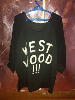 Oversized westwood shirt