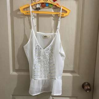 Hollister Sequined Top