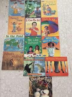 Kites preschool readers