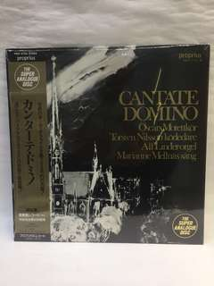 NOS CANTATE DOMINO vinyl LP records Sealed