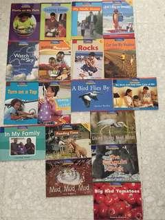 National geographic preschool readers
