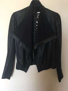 Genuine Leather Jacket - S