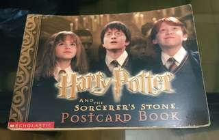 Harry Potter and the Sorcerer's Stone Postcard Book