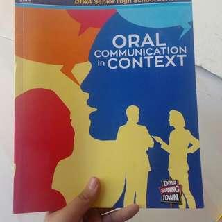 SHS GRADE 11- ORAM Communication In Context