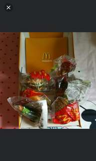 Macdonalds Food Strap Collection